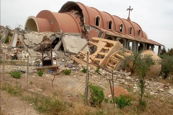 Destruye ISIS más de 100 lugares de culto