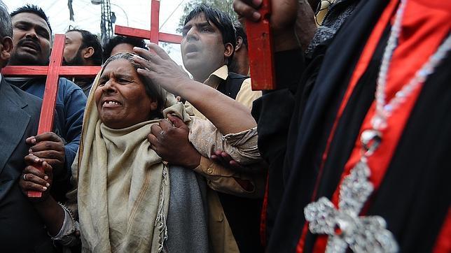 Cristianos en pakistán