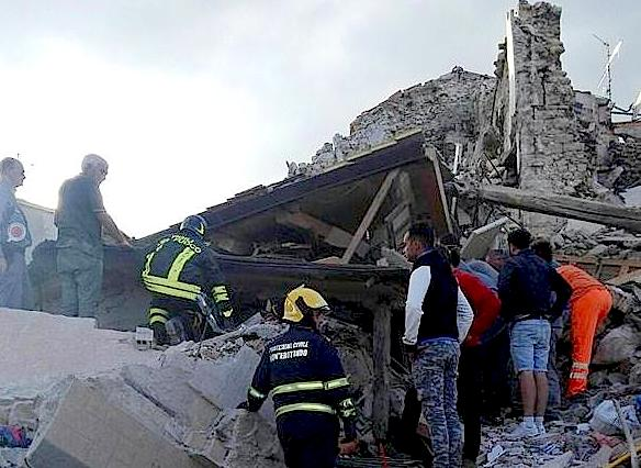 Iglesia italiana destina recursos para la emergencia del terremoto
