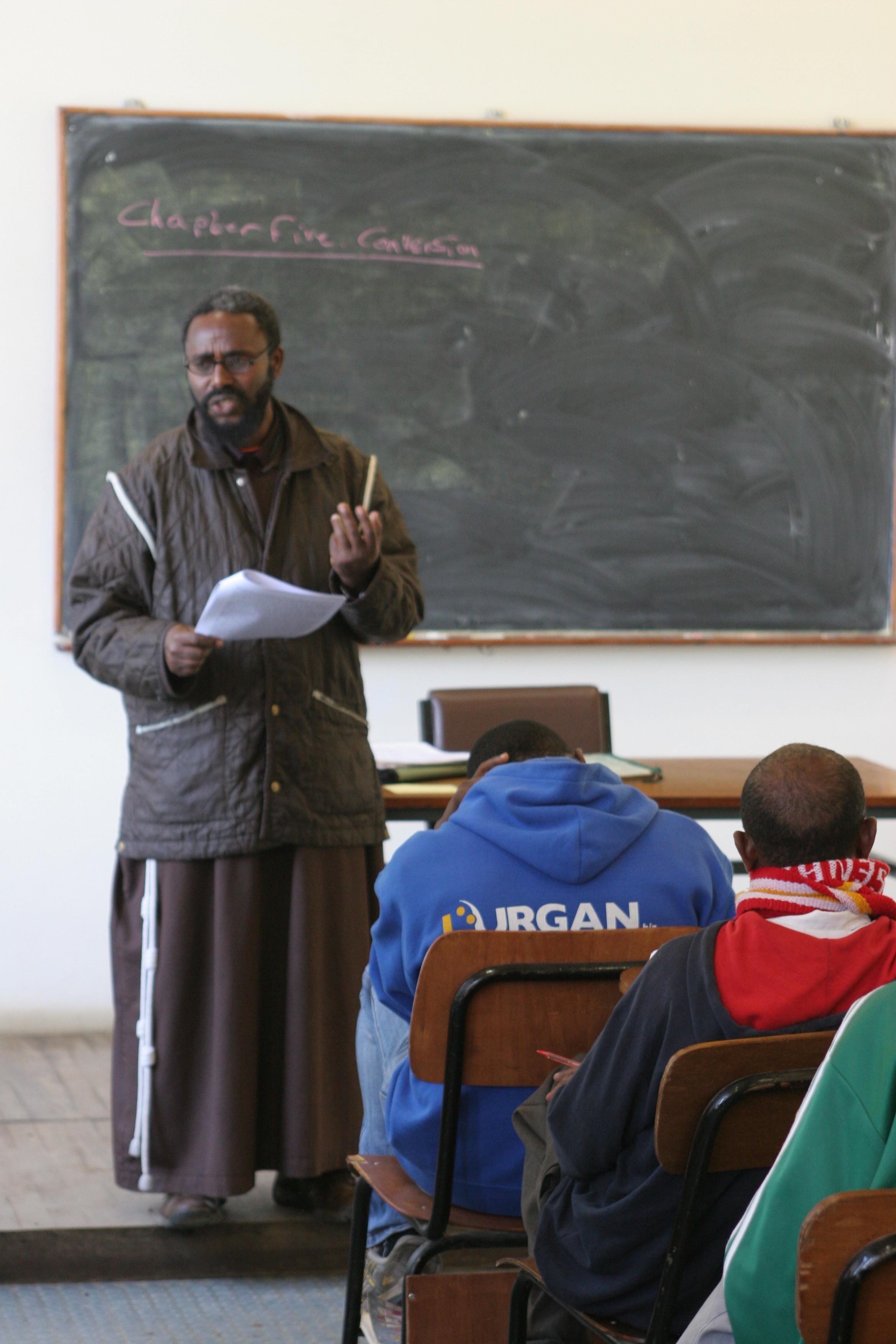 ACN contribuye a la formación continua para los Capuchinos en Etiopía