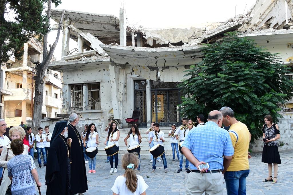 """El padre Halemba narra testimonios desde Siria; """"el país está destruído"""""""