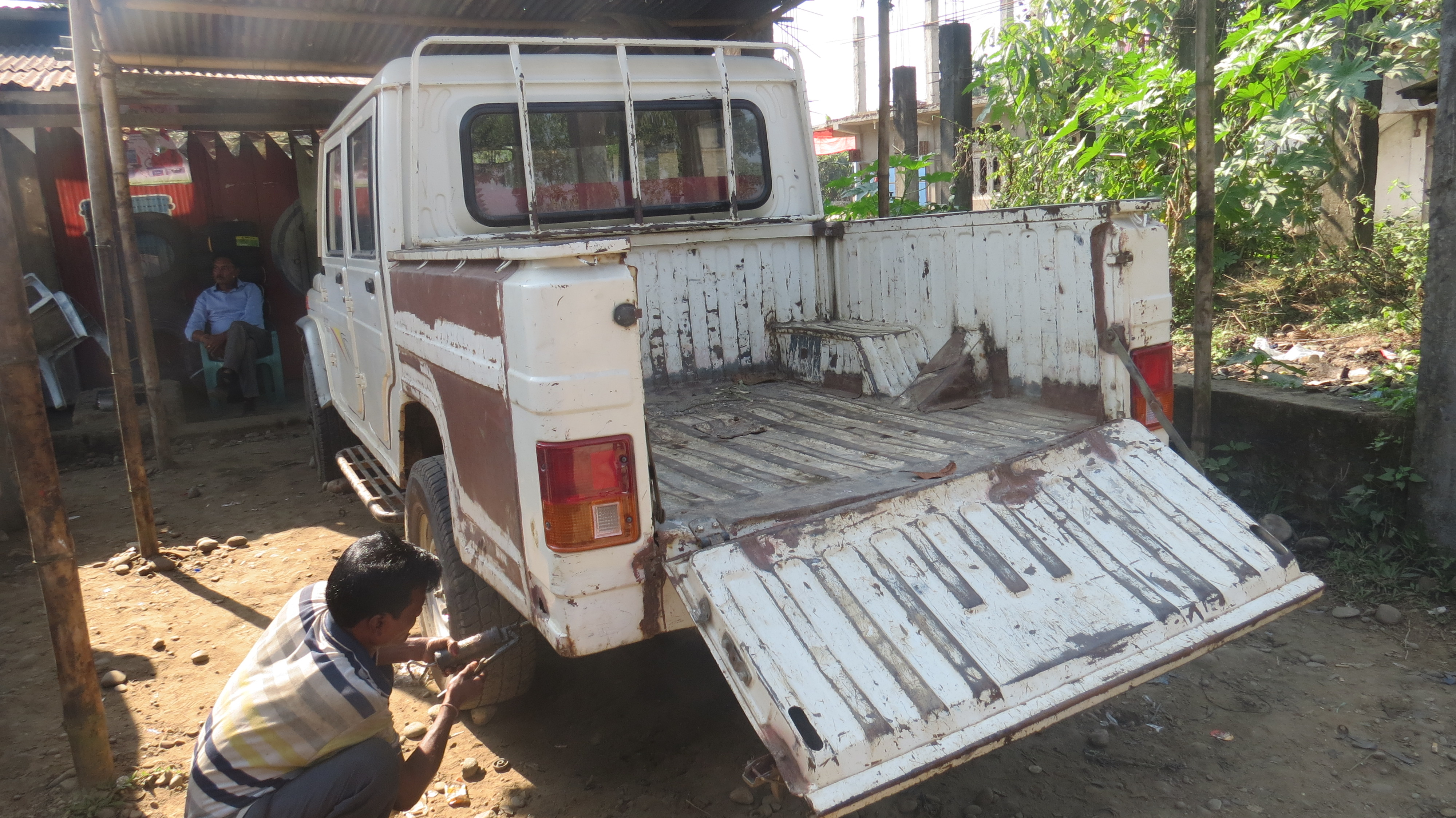 Un vehículo para una parroquia ubicada en un lugar remoto