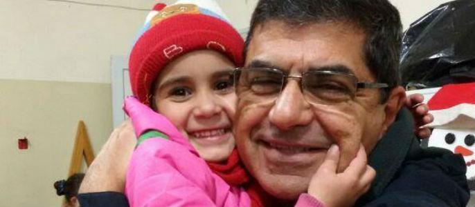 """George Sabé, desde Alepo: """"Realmente los niños sirios tienen un corazón de oro"""""""