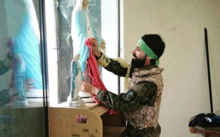 Qaraqosh, la ciudad iraquí, vuelve a ser cristiana