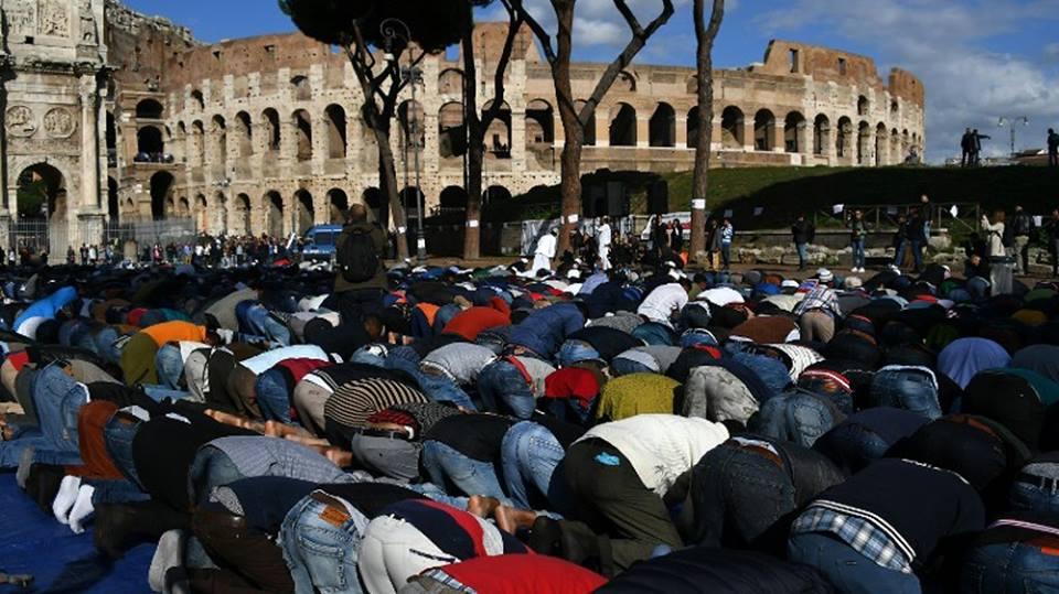 Líder musulmán cuestiona protesta islámica ante lugar de martirio de cristianos en Roma