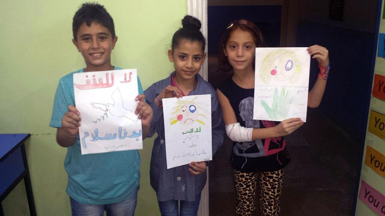 Niños Sirios  lanzan mensaje a ONU y Unión Europea: ¡No queremos guerra!