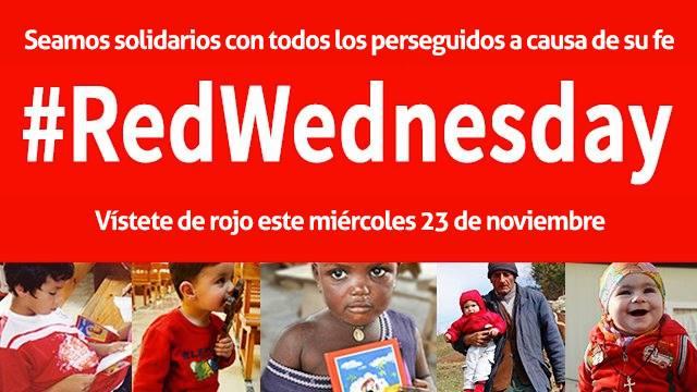Miércoles rojo, une a las religiones en contra la persecución religiosa
