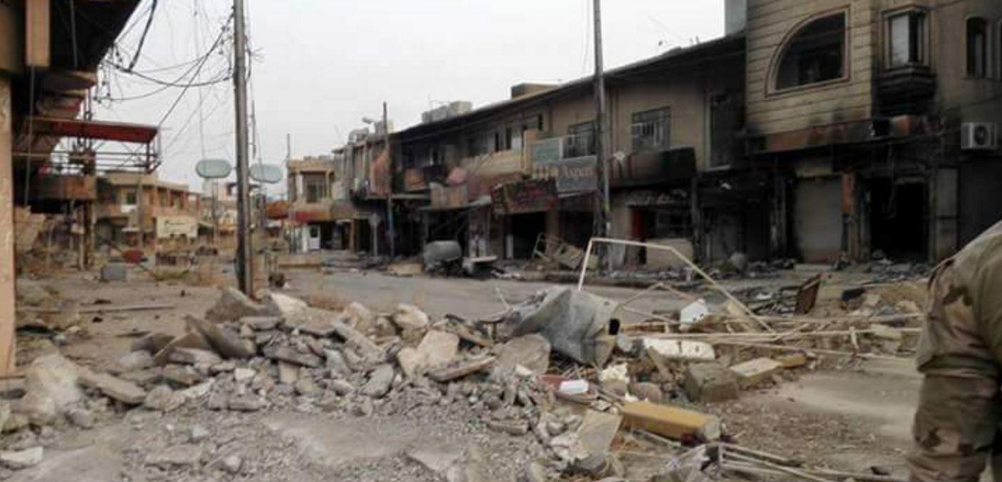 Qaraqosh, destruido por el Daesh