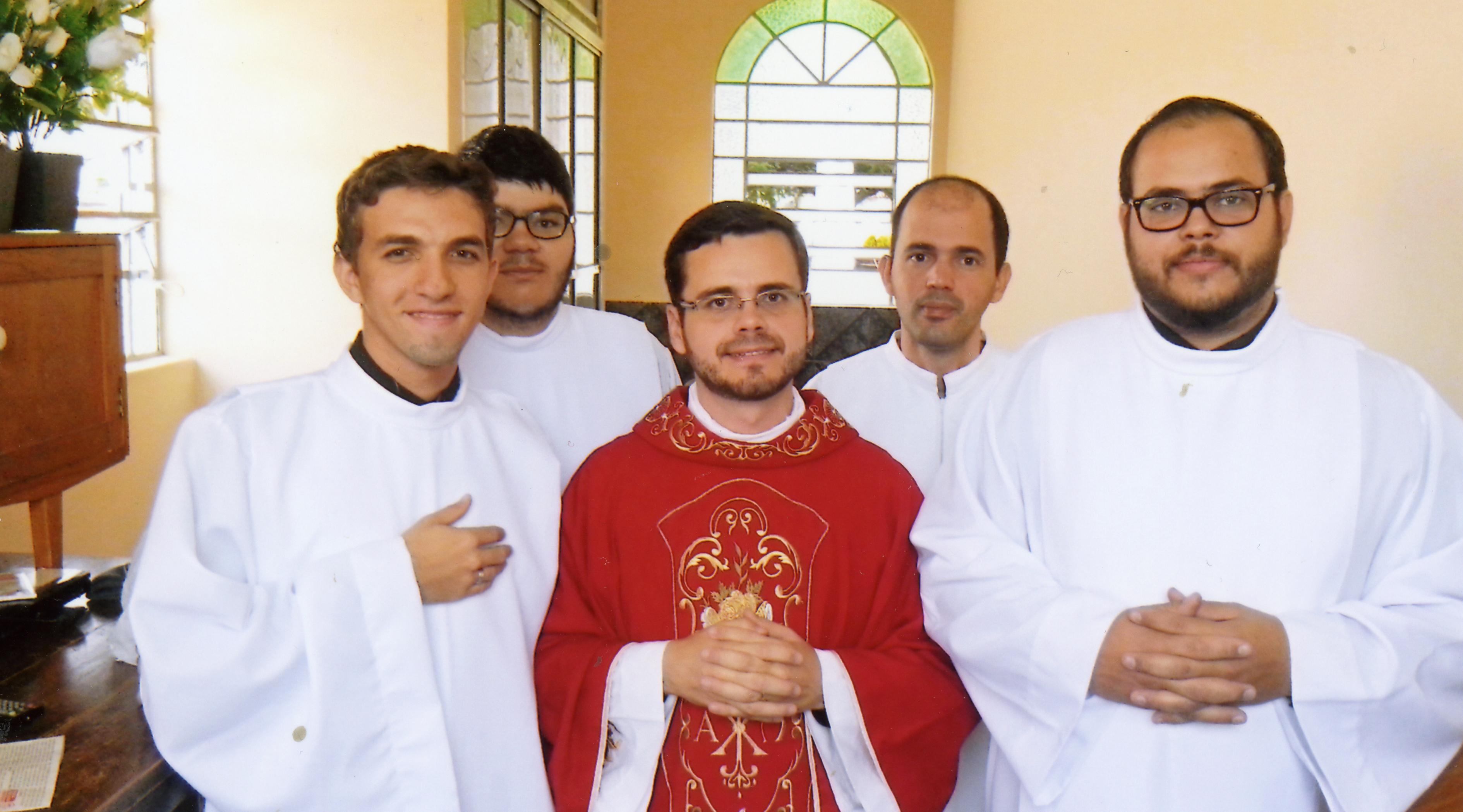 Proyecto del mes: Ayuda a la formación de sacerdotes en Brasil