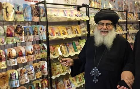 Hacen feria del libro copto
