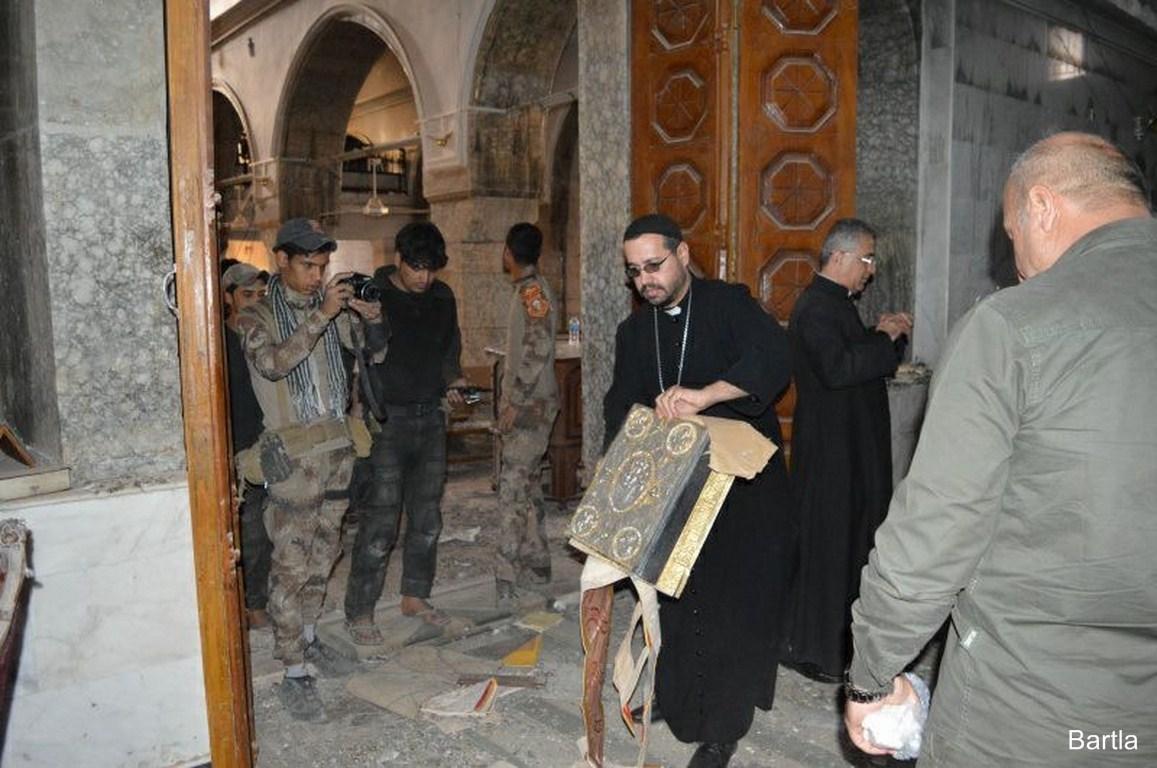 No hay seguridad para regresar a Mosul afirma Arzobispo de Erbil