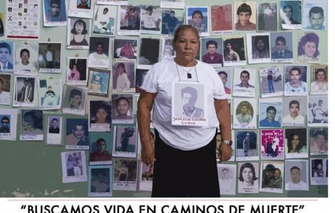 Mamás buscan a sus hijos migrantes en caravana
