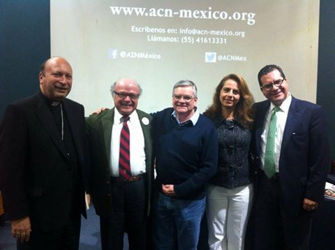 Presenta ACN-México el Informe de Libertad Religiosa en el Mundo 2016