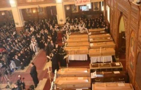 Emotiva despedida para las víctimas del atentado en El Cairo