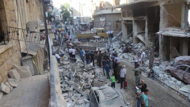 """La carta del Papa al presidente sirio es clara: """"hay que poner fin a la violencia""""."""