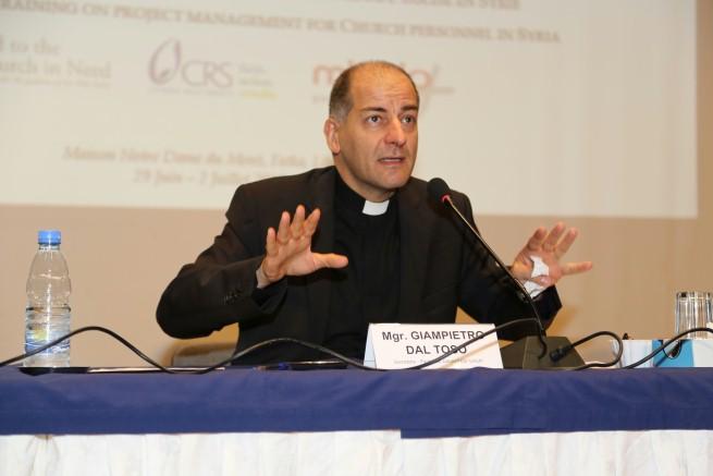 Representantes de la Santa Sede visitaron Alepo