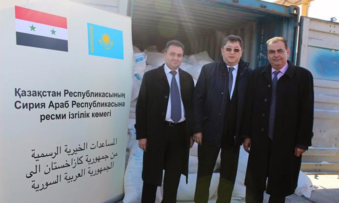A pesar de ayuda internacional las condiciones humanitarias en Siria son catastróficas: embajador de Kazajistán