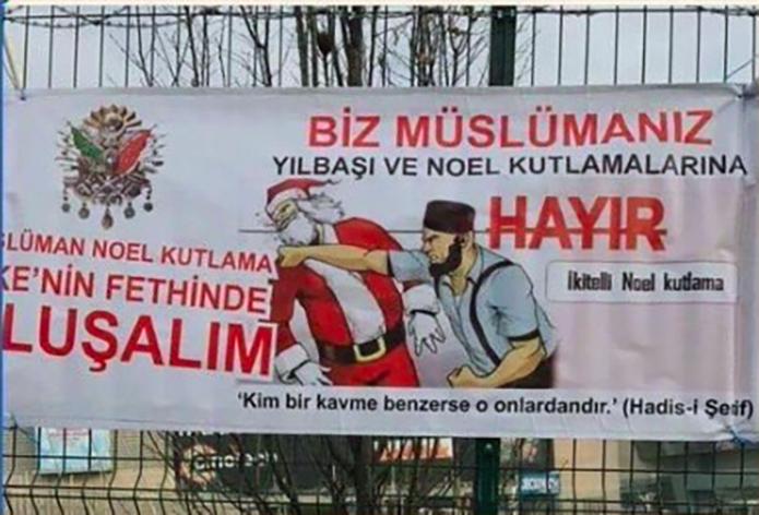 Campañas anti-Navidad en Turquía