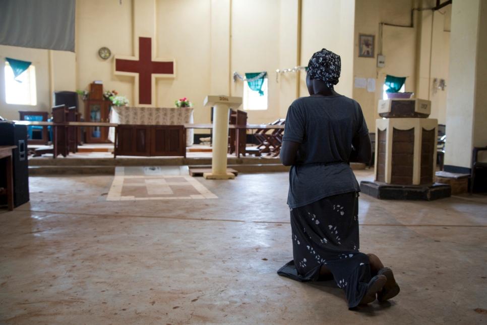 Acogen a desplazados en iglesia de Sudán del Sur