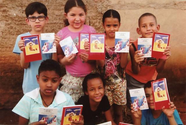 Proyecto de mes: Biblias del Niño en la lengua indígena para Brasil