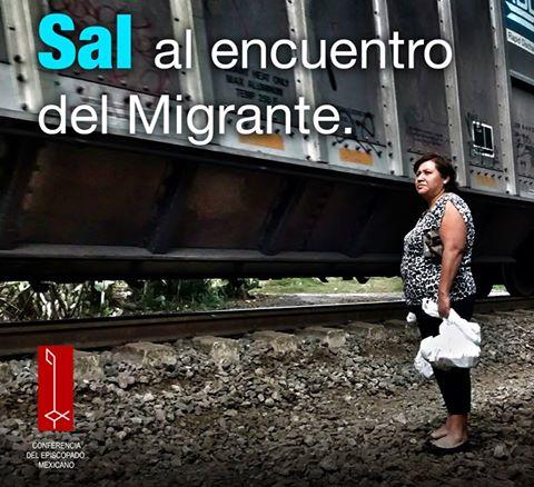 """""""El migrante es un don"""" campaña de la Conferencia del Episcopado Mexicano"""