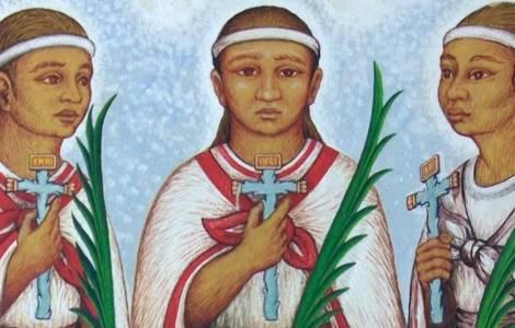 Niños tlaxcaltecas serán canonizados