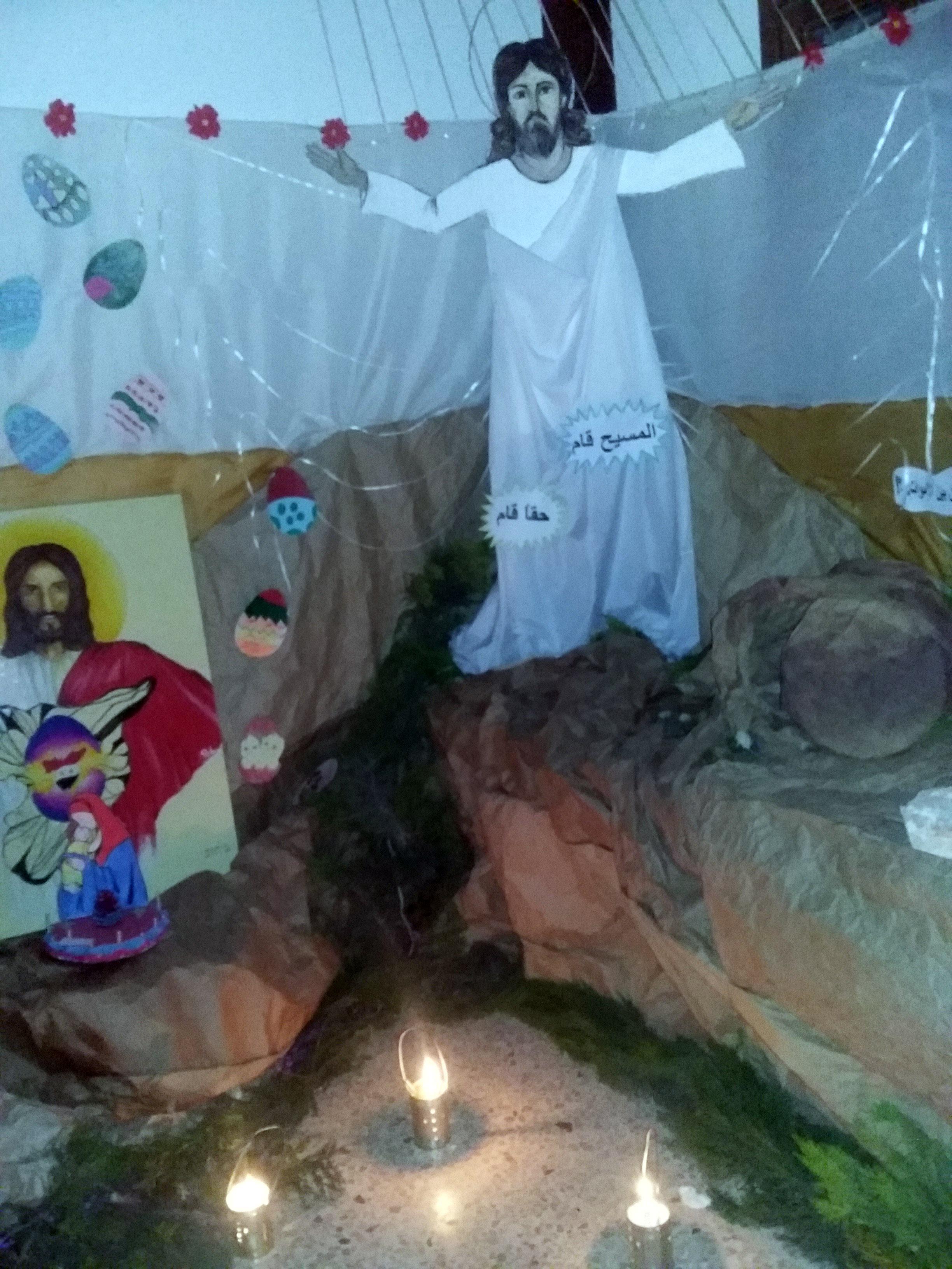 La ilusión de la Pascua en Alepo