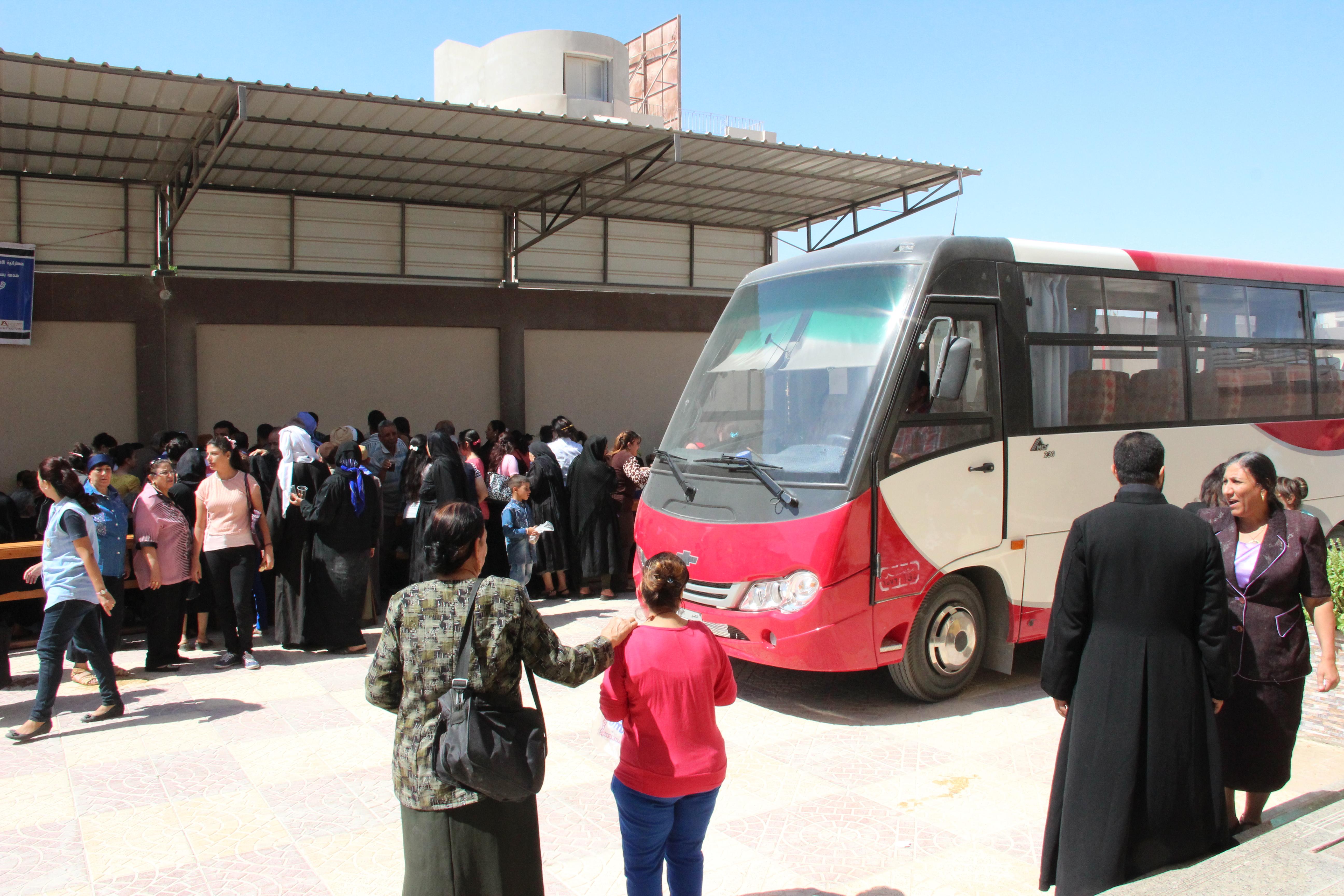 Proyecto: Un minibús para la parroquia de Minya, Egipto