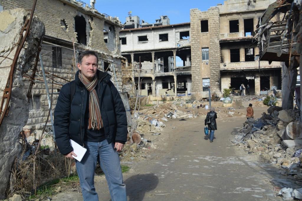 Crónica desde Alepo: John Pontifex