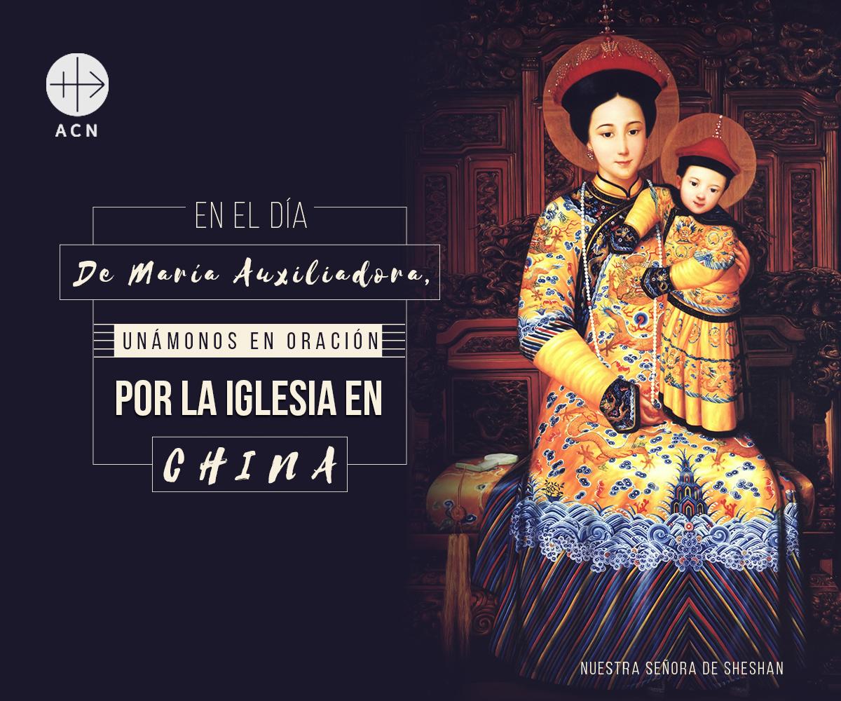 Jornada de Oración por la Iglesia en China en el día de María Auxiliadora