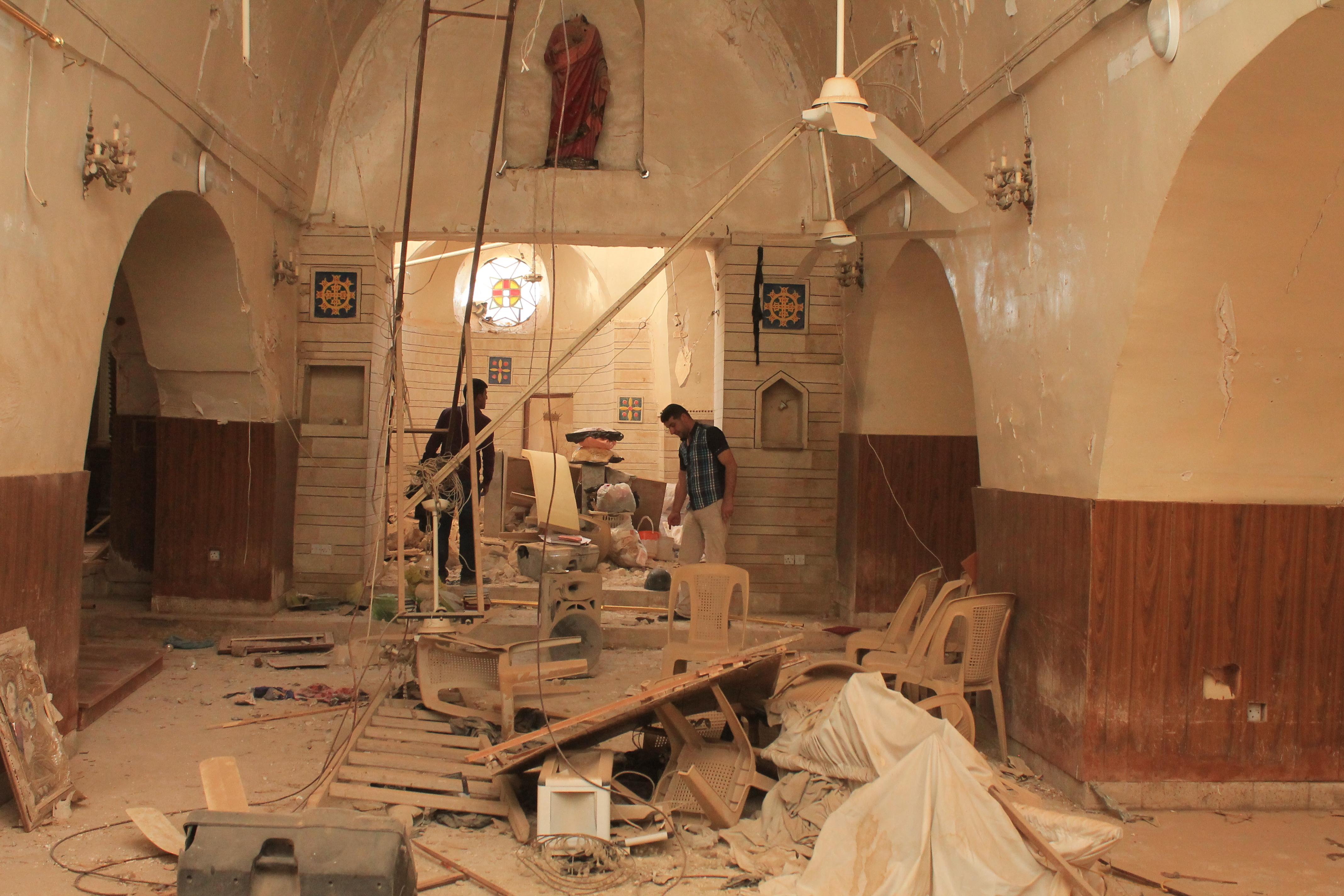 ACN: La reconstrucción comienza en la llanura de Nínive