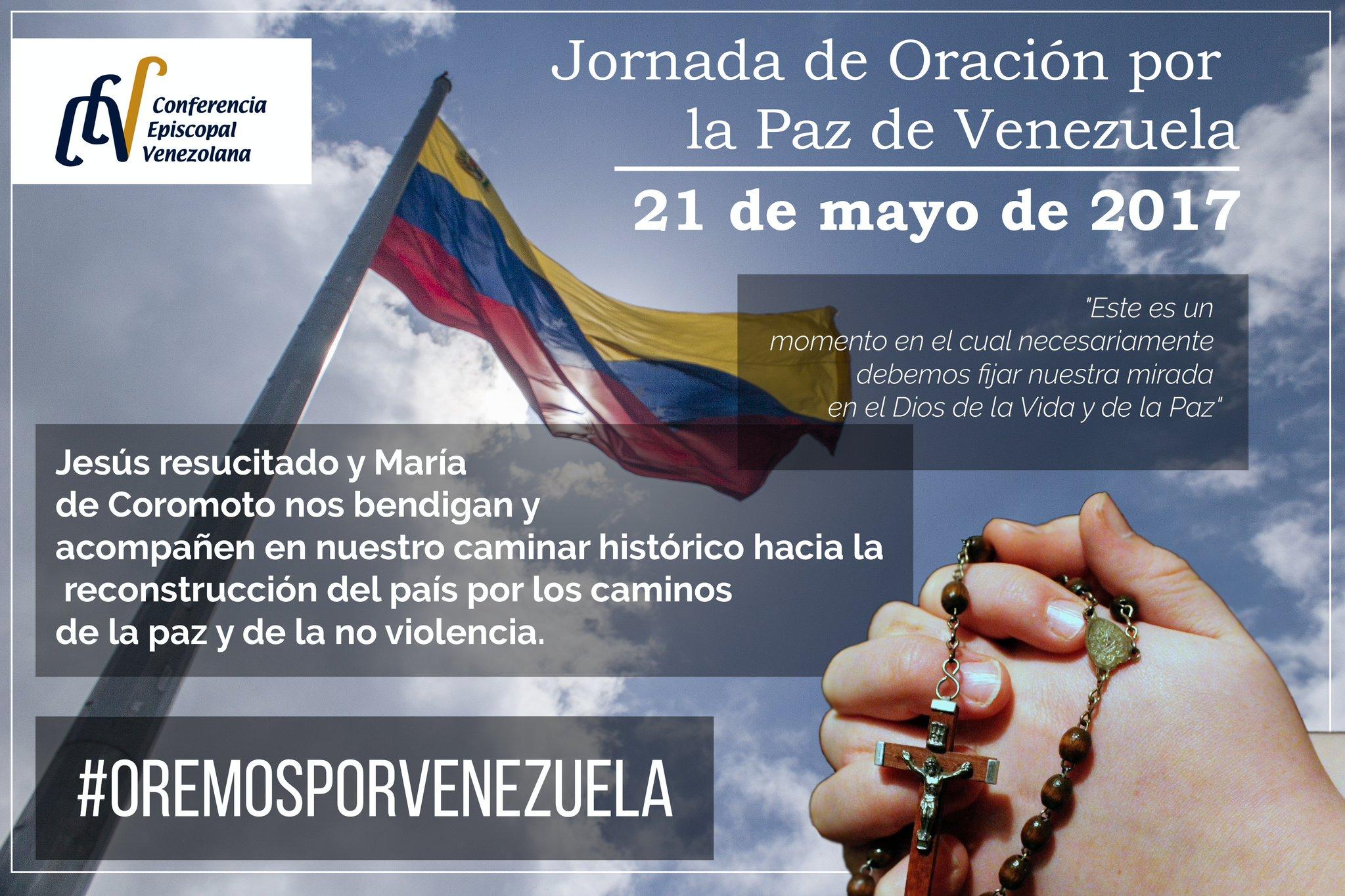 ACN se unirá a la Jornada por la Paz de Venezuela
