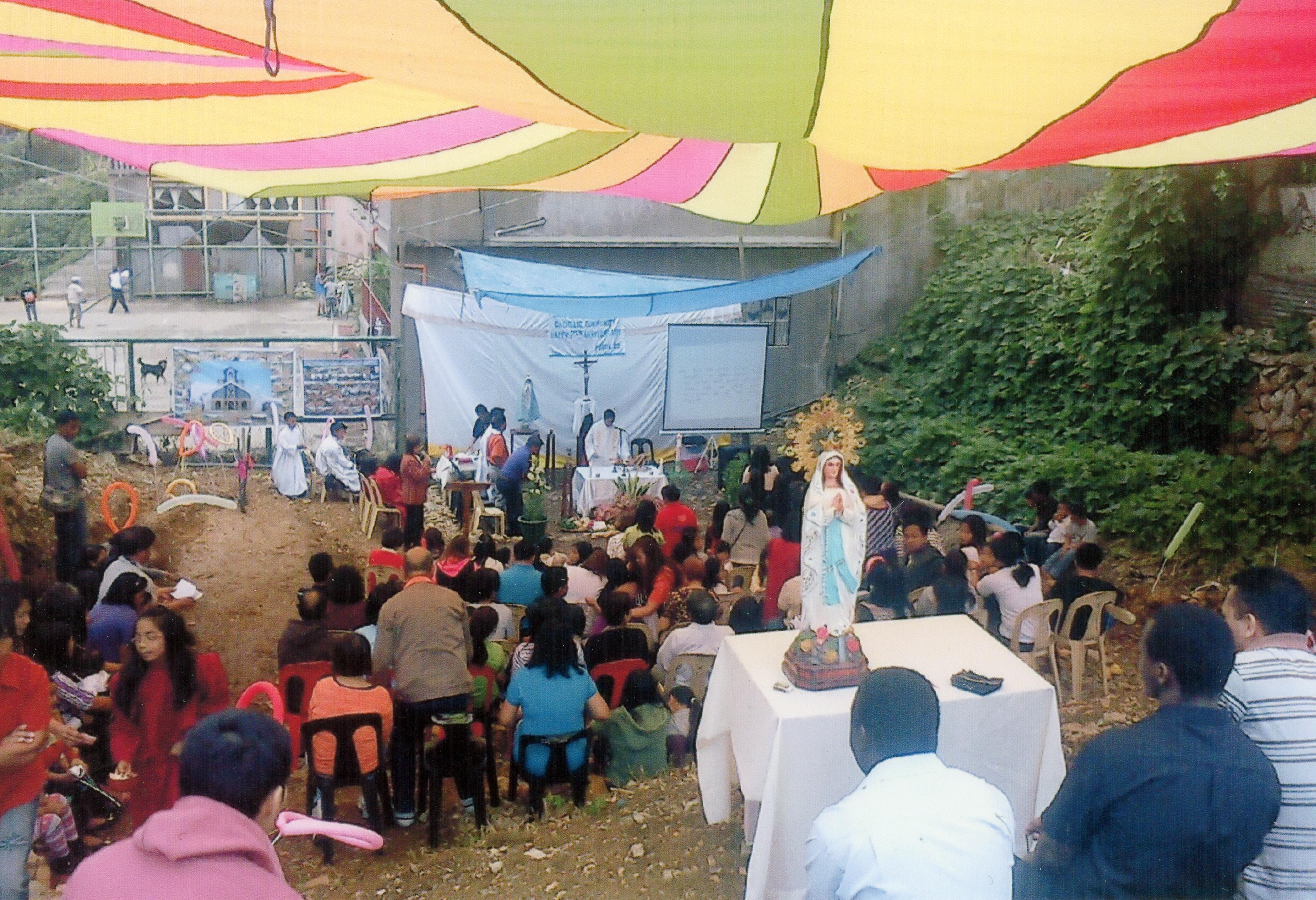 Proyecto: Construcción de una iglesia en Filipinas