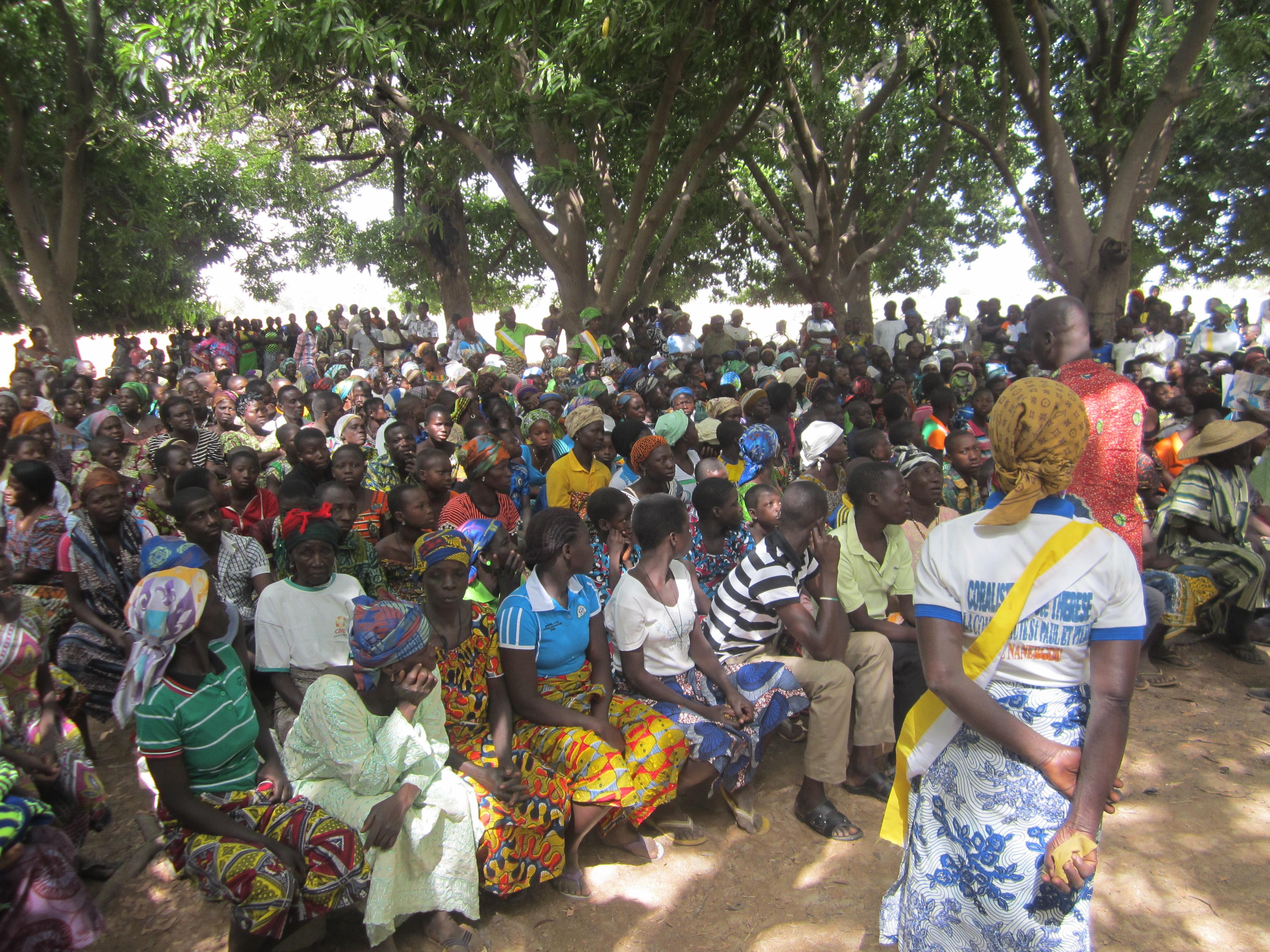 Proyecto: Dos aulas para la catequesis en Togo