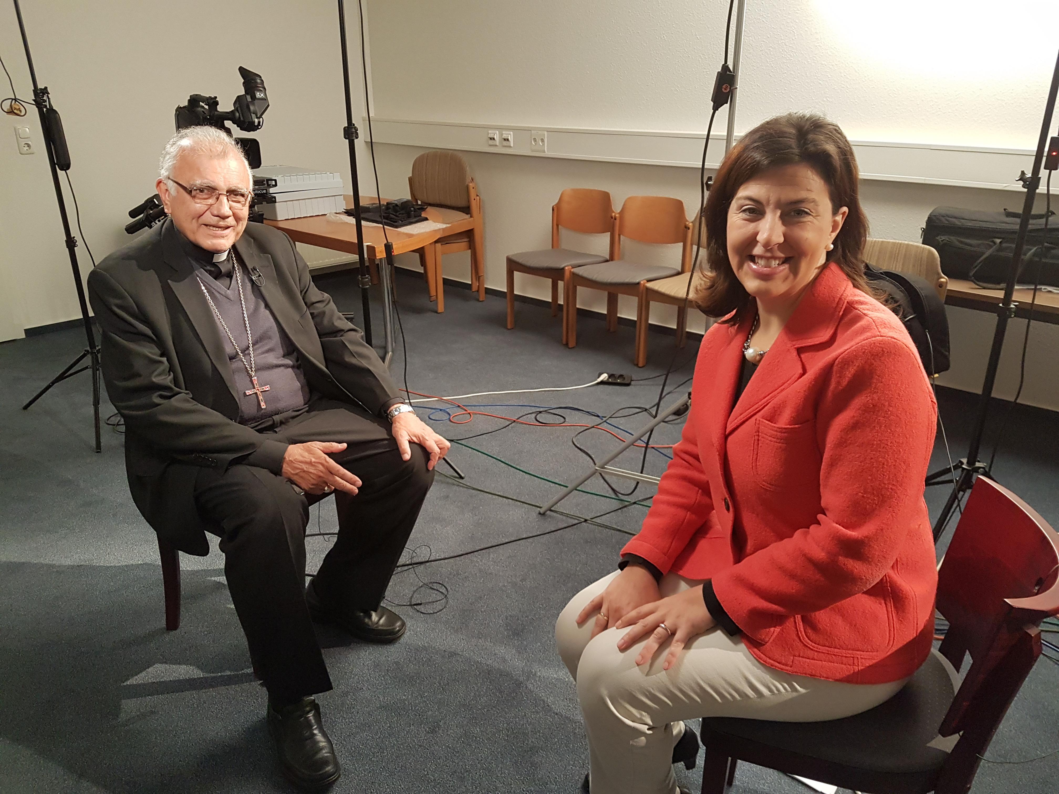 ACN entrevista a Mons. Moronta después del encuentro privado del Papa con la Conferencia Episcopal de Venezuela