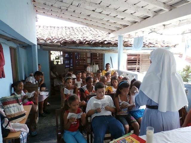Proyecto: apoyo a la labor pastoral de las Misioneras del Jesús Verbo en Cuba