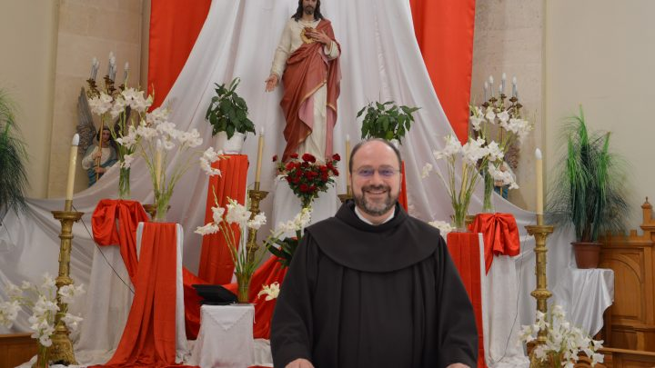 Fr. Ibrahim Alsabagh, Franciscan of the Custody of Holy Land and responsible for the Latin Community in Aleppo.