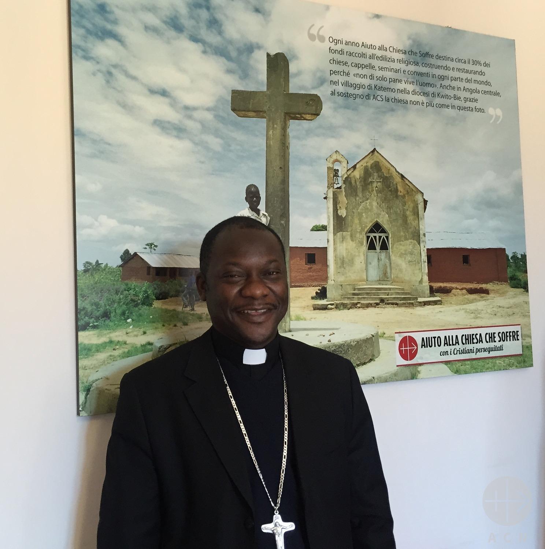 ¡Lloramos lágrimas amargas por nuestros niños abandonados !: Obispo de República Centroafricana
