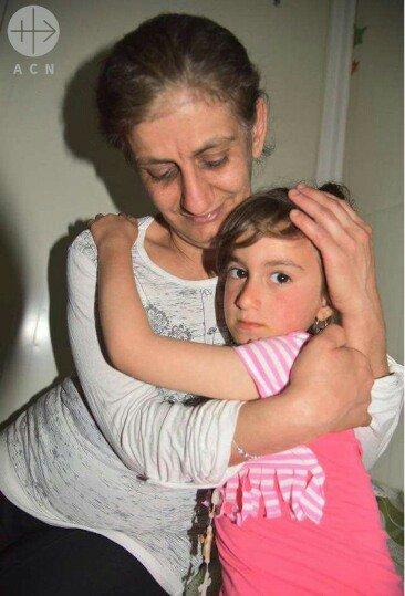 Cristina, la niña secuestrada por el Daesh en Irak ha sido liberada