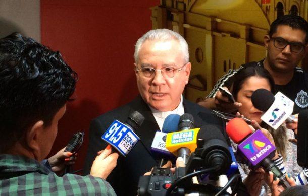 El espionaje no debe ser justificado, dice Cardenal Robles