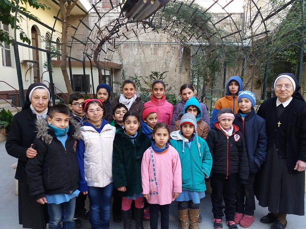 ACN aprueba 30 nuevos proyectos por casi un millón de euros para ayudar a los cristianos en Siria