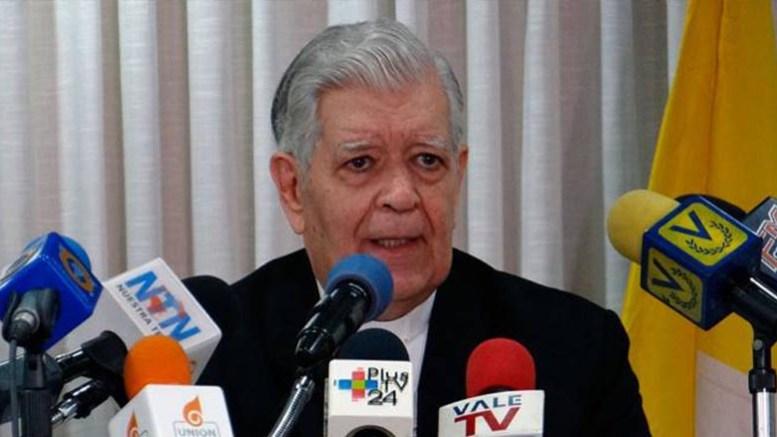 Pide arzobispo de Caracas cese de violencia contra el pueblo venezolano