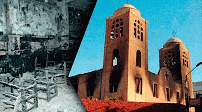 Lanzan campaña para reconstruir catedral de Egipto