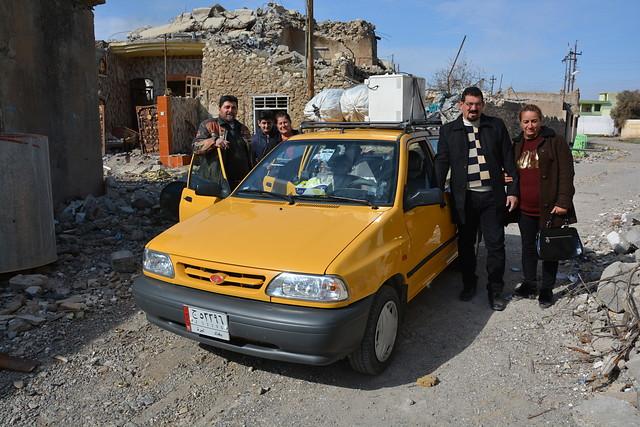 Celebran el retorno de cristianos iraquíes a Nínive