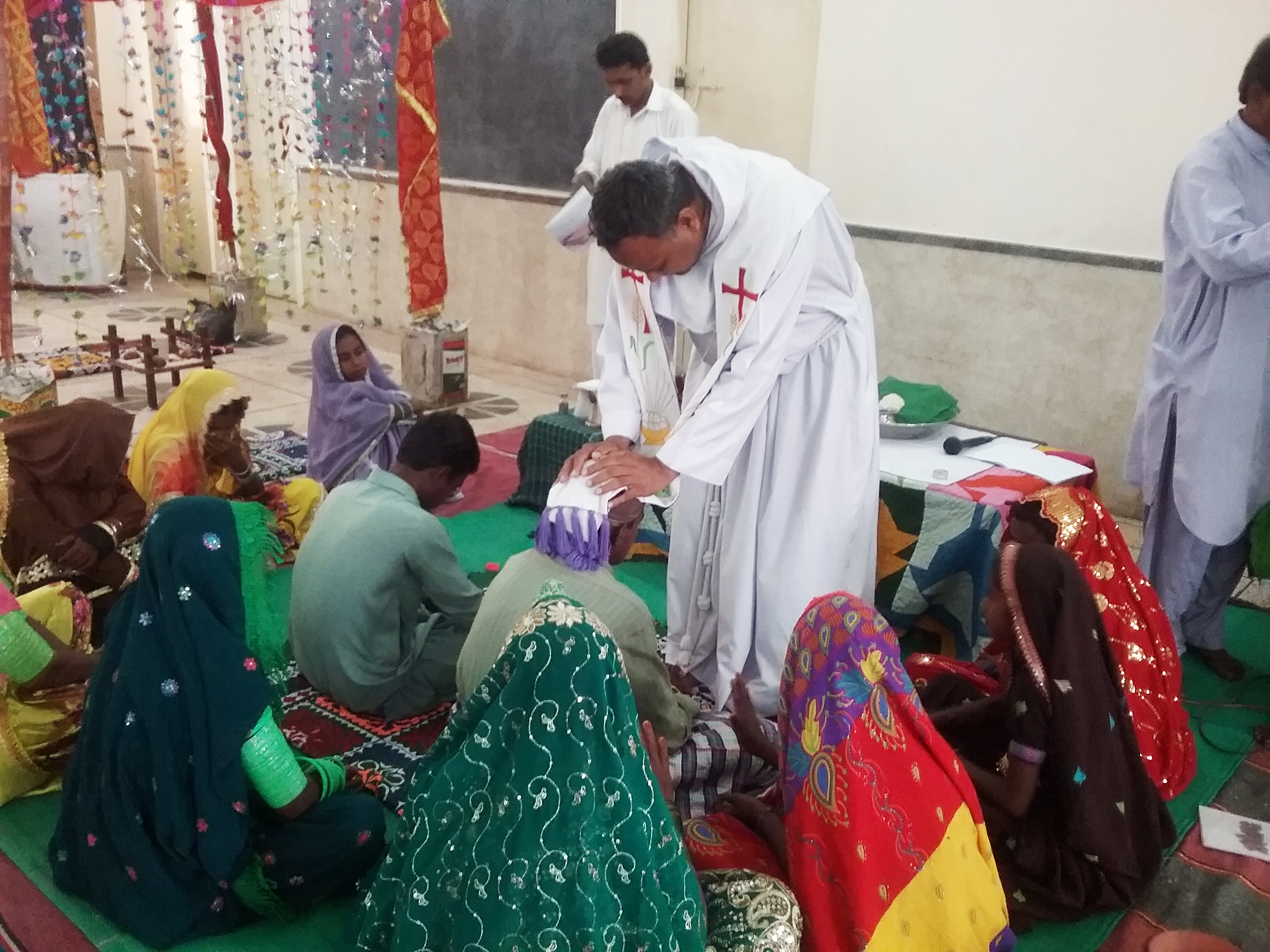 Proyecto: Apoyo pastoral para familias en Pakistán