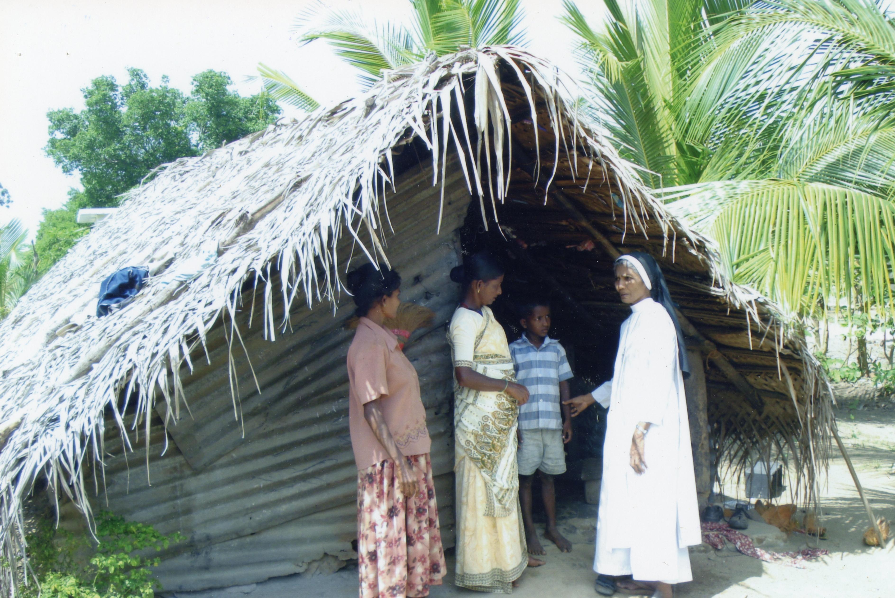 Proyecto de mes: Ayuda a la reconstrucción de un convento destruido en la guerra civil en Sri Lanka