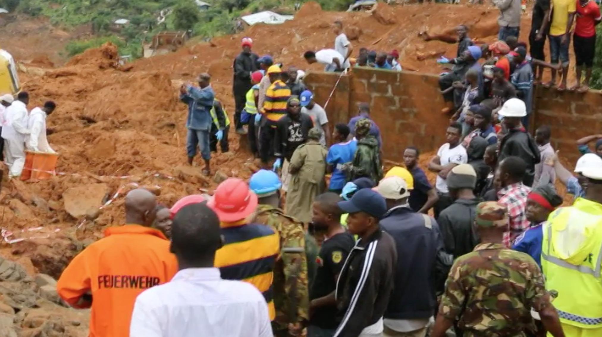 Papa manda condolencias por inundaciones en Sierra Leona