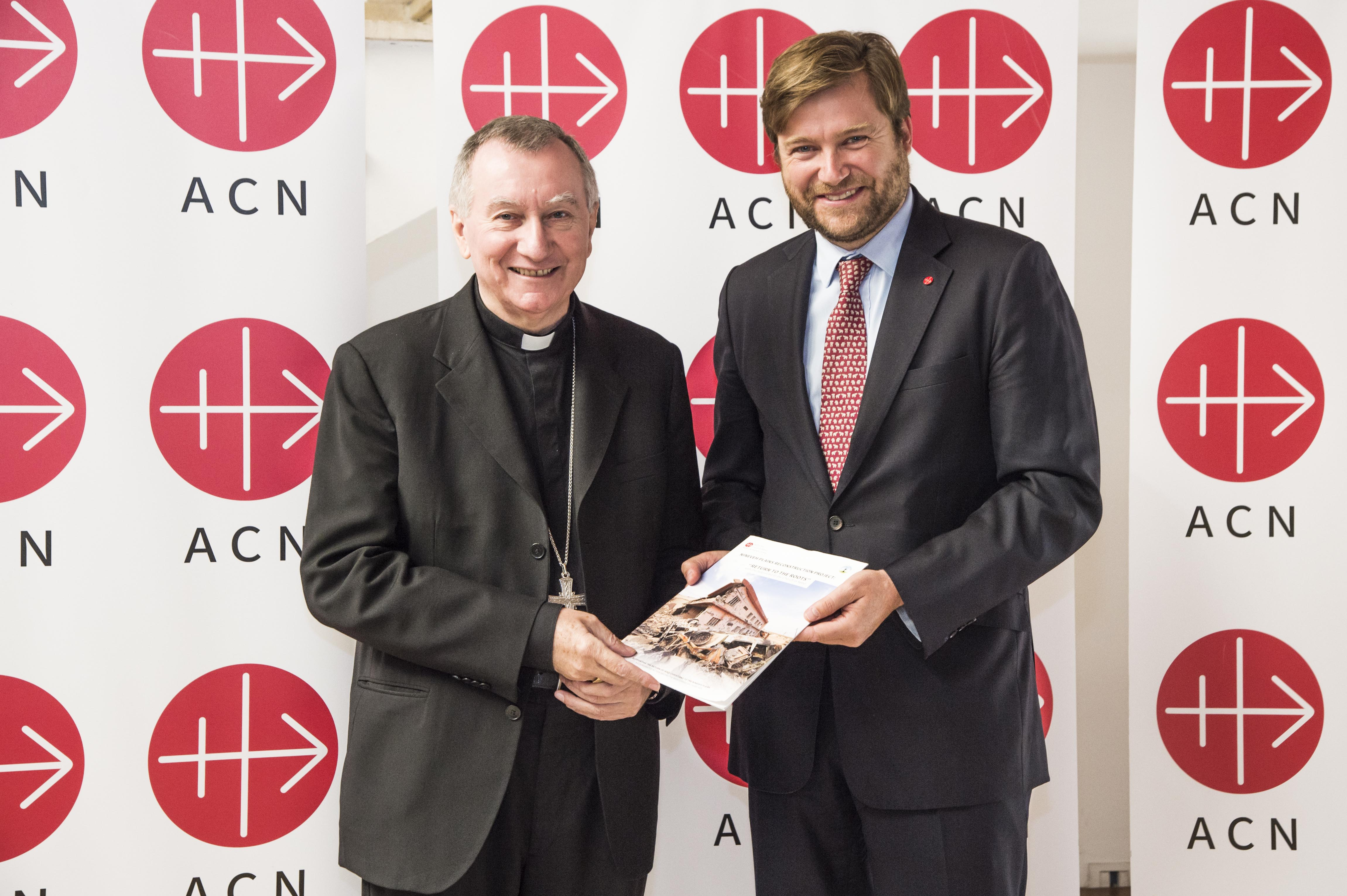 Agradece Cardenal Parolin el plan de reconstrucción de la Llanura de Nínive