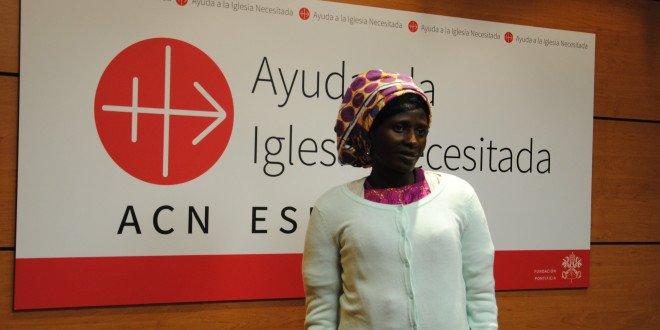 """Rebeca, superviviente de Boko Haram: """"He perdonado a los terroristas"""""""