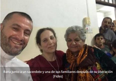Liberan a Rana Behnam, cristiana de Irak secuestrada por ISIS